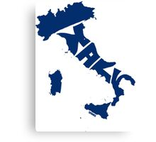 Italy Blue Canvas Print