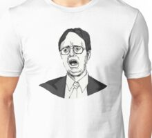 Dwight Schrute Sketch Unisex T-Shirt