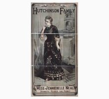 Performing Arts Posters Miss Jenniebelle Neal dramatic reader and pianist with the Hutchinson Family 1926 Kids Tee
