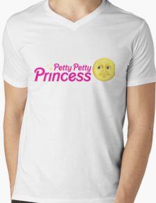 Petty Petty Princess Mens V-Neck T-Shirt
