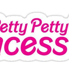 Petty Petty Princess Sticker