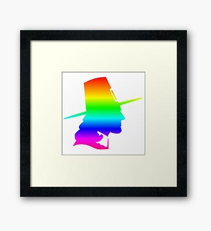 Rainbow Pilgrim Framed Print