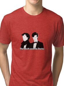 The Sleuth and the Doctor Tri-blend T-Shirt