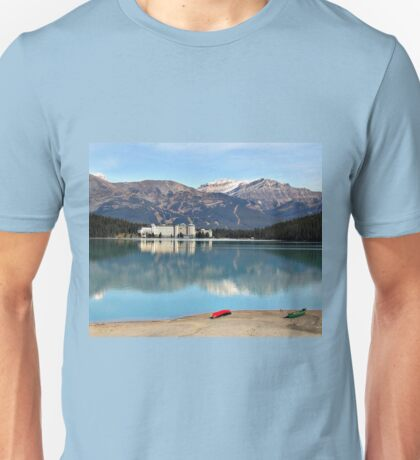 Lake Louise in Alberta Canada Unisex T-Shirt