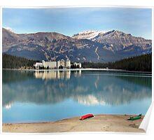 Lake Louise in Alberta Canada Poster