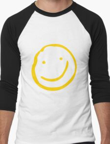 Smile if You're Bored Men's Baseball ¾ T-Shirt