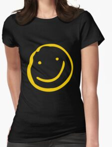 Smile if You're Bored Womens Fitted T-Shirt