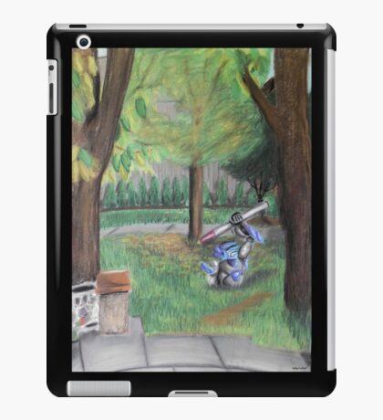 Landscape with Robot iPad Case/Skin