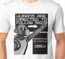 Robot Orders   Unisex T-Shirt