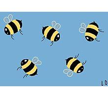 Bees! Photographic Print