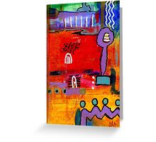 Four Souls Heading Home Greeting Card