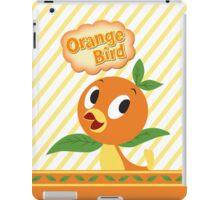 Little Orange Bird stripes iPad Case/Skin
