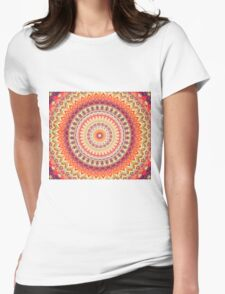 Mandala 98 Womens Fitted T-Shirt