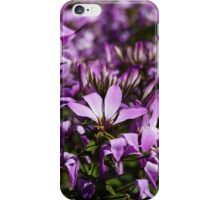Gardening VIII ~ Purple flowers iPhone Case/Skin