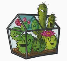 Cacti greenhouse Kids Tee