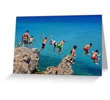 Summer attack - Kos island Greeting Card