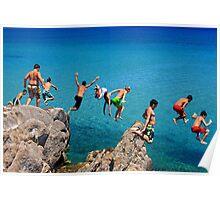 Summer attack - Kos island Poster