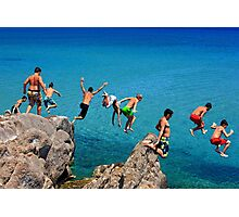 Summer attack - Kos island Photographic Print