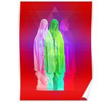 Glitch Goddess Poster