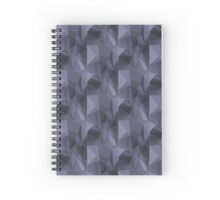 triangle tile  Spiral Notebook