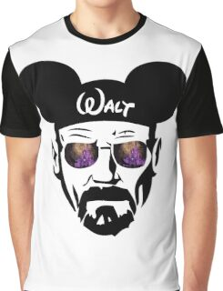 Walter White Night Castle Graphic T-Shirt