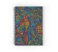 Parrot macaw Spiral Notebook