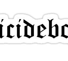 $UICIDEBOY$ Sticker Sticker