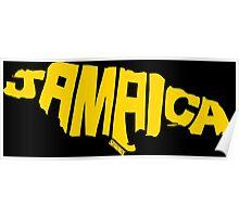 Jamaica Yellow Poster