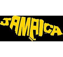 Jamaica Yellow Photographic Print