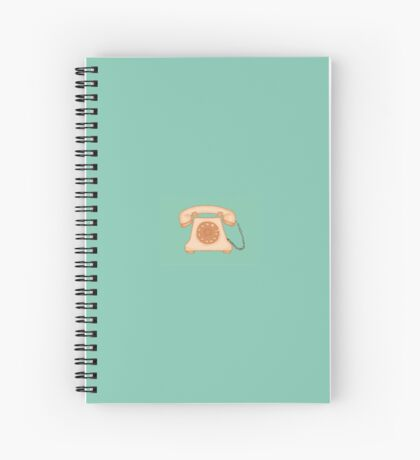 Vintage phone Spiral Notebook