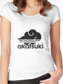 AKATSUKI logo Women's Fitted Scoop T-Shirt