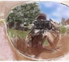 Selfie in  the Sunglasses Sticker