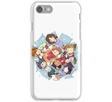 Sleepy Pack iPhone Case/Skin