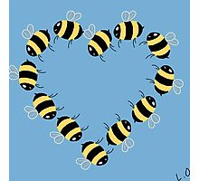 Bee hearty! Photographic Print