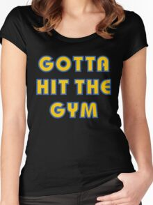 Pokemon Go - Gotta Hit The Gym Women's Fitted Scoop T-Shirt