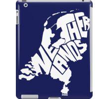 Netherlands White iPad Case/Skin