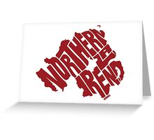 Northern Ireland Red Greeting Card