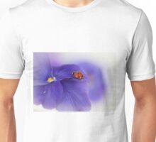 Ladybird on purple flower T-Shirt