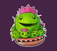 Cactus Family Outline Unisex T-Shirt