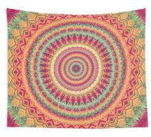 Mandala 101 Wall Tapestry