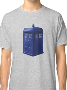 Tardis with Light Classic T-Shirt