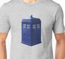 Tardis with Light Unisex T-Shirt