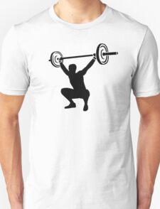 Weightlifting sports Unisex T-Shirt