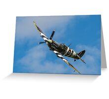 RAF Spitfire Greeting Card
