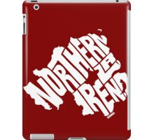 Northern Ireland White iPad Case/Skin