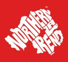 Northern Ireland White One Piece - Short Sleeve