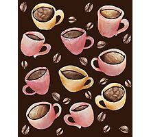 Coffee House Barista  Photographic Print