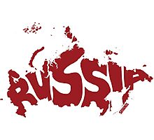 Russia Red Photographic Print