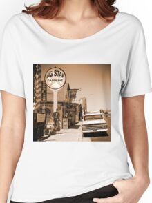 Route 66 - Angel And Vilma's Women's Relaxed Fit T-Shirt