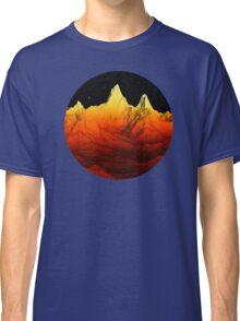 Sci Fi Mountains Landscape Classic T-Shirt